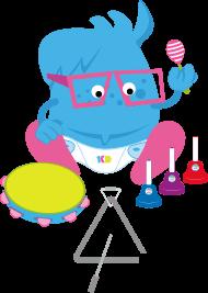 Brainy band musica e ingles para bebes