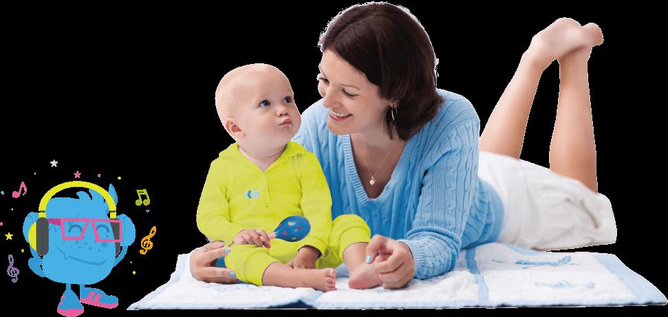 Clases de ingles y musica para bebes